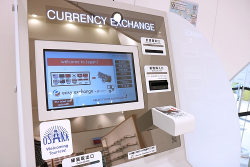 Information for foreign currency changemaker setting