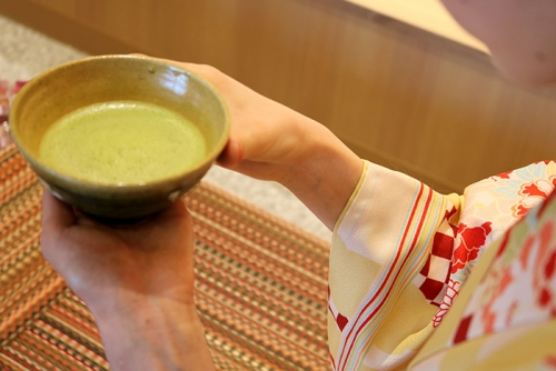 Under tea ceremony experience-based conduct!